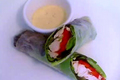 How To Make Chicken Caesar In Rice Paper Spring Rolls